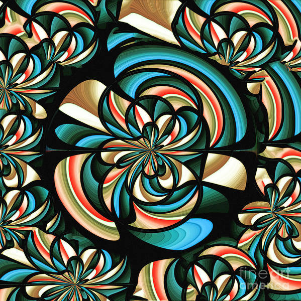 Distortions Digital Art - Almost Floral Abstract by Gaspar Avila
