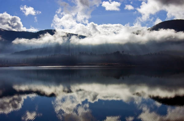 Heavenly Photograph - Almost Heaven by Mike  Dawson
