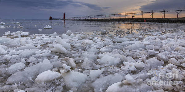 Haven Photograph - Almost Spring In Grand Haven by Twenty Two North Photography