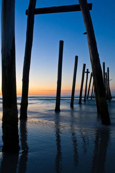 Photograph - Almost Sunrise At The Pier by Louis Dallara