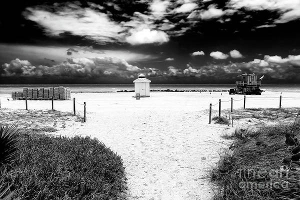 Photograph - Almost There In South Beach by John Rizzuto