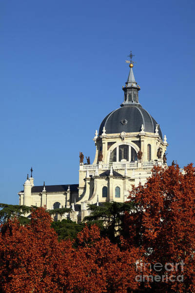 Photograph - Almudena Autumn Madrid Spain by James Brunker