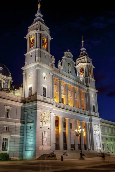 Wall Art - Photograph - Almudena Cathedral Madrid by W Chris Fooshee