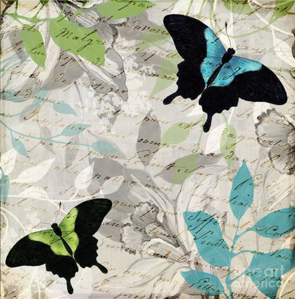 Wall Art - Painting - Aloft I by Mindy Sommers