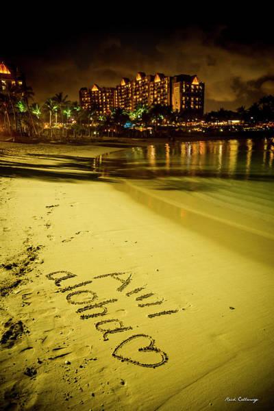 Photograph - Ami Aloha Aulani Disney Resort And Spa Hawaii Collection Art by Reid Callaway