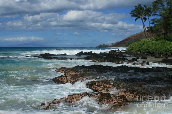 Photograph - Aloha Island Dreams Paako Beach Makena Secret Cove Hawaii by Sharon Mau