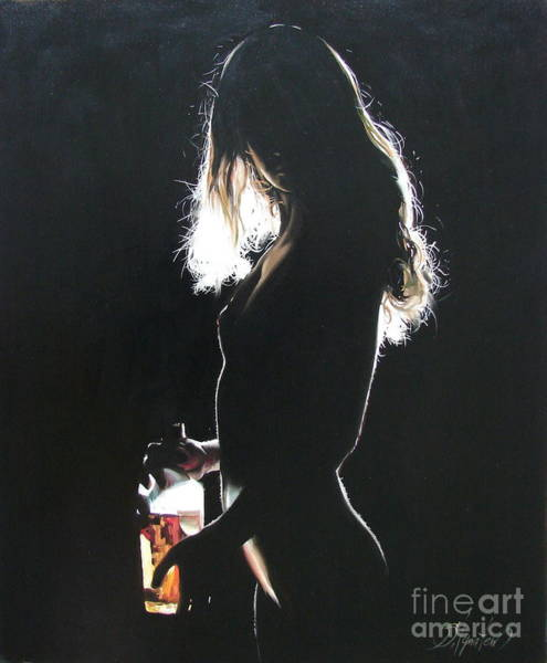 Ignatenko Painting - Alone At Home2 by Sergey Ignatenko