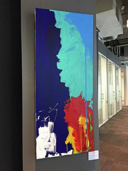 Wall Art - Painting - Alone by Mac Worthington