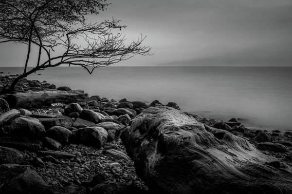 Photograph - Alone On Spanish Banks by Brad Koop