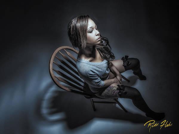 Photograph - Alone by Rikk Flohr