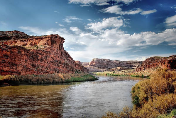 Photograph - Along A River In Utah by Gregory Ballos