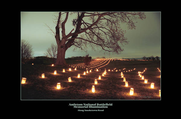 Luminaries Photograph - Along Smoketown Road 07 by Judi Quelland