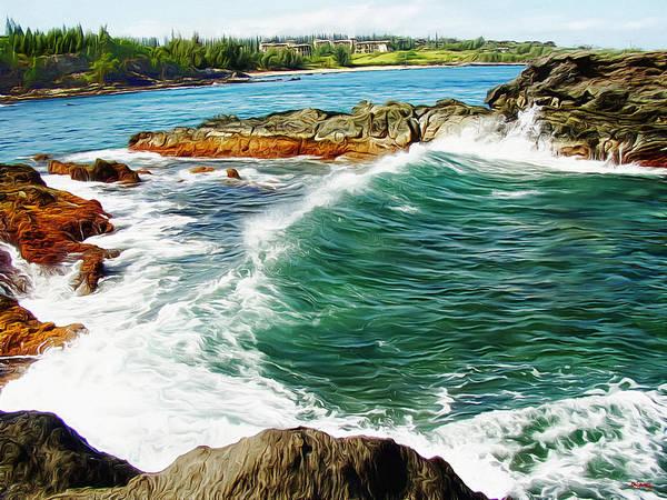 Photograph - Along The Coast Of Maui - Hawaii by Glenn McCarthy