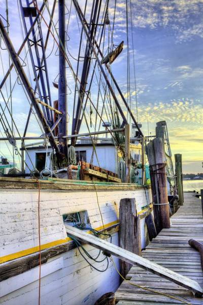Wall Art - Photograph - Along The Docks Of Bon Secour by JC Findley