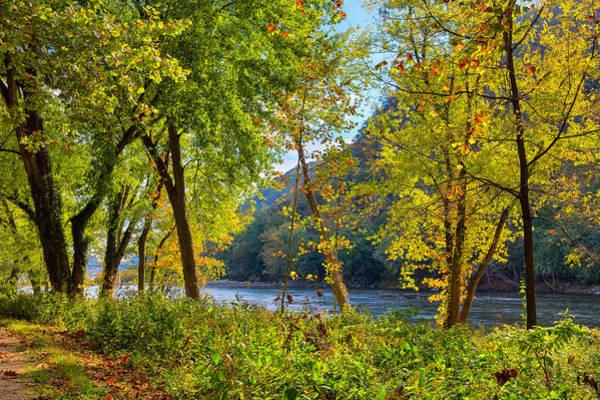 Photograph - Along The Shenandoah River by John M Bailey