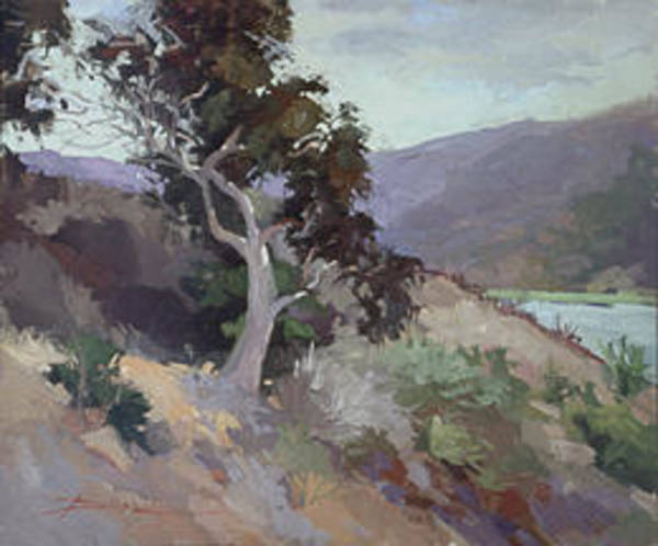 Painting - Along The Shore - Plein Air  Catalina Island by Betty Jean Billups
