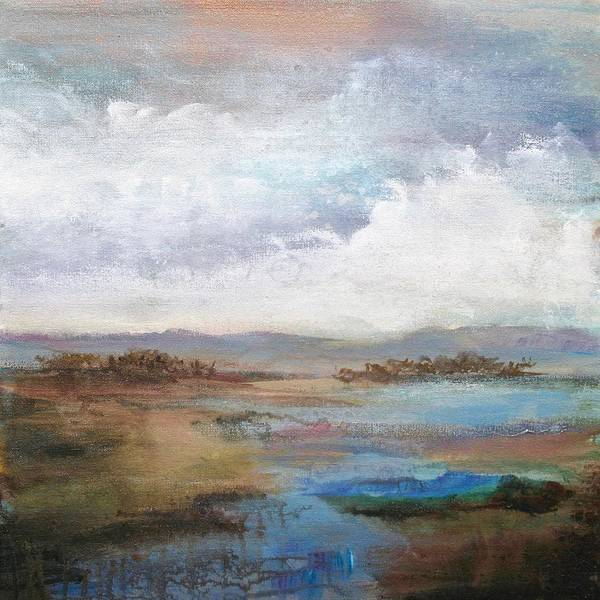 Wall Art - Painting - Along  The Stream   by Karen Hale