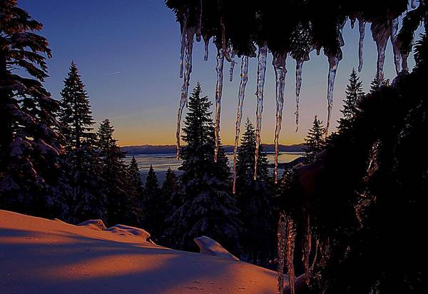 Photograph - Alpenglow Claws by Sean Sarsfield