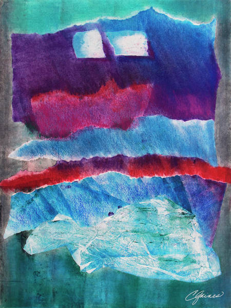 Sacred Heart Mixed Media - Alpha Abstractions 2 by Cheryl Gaines