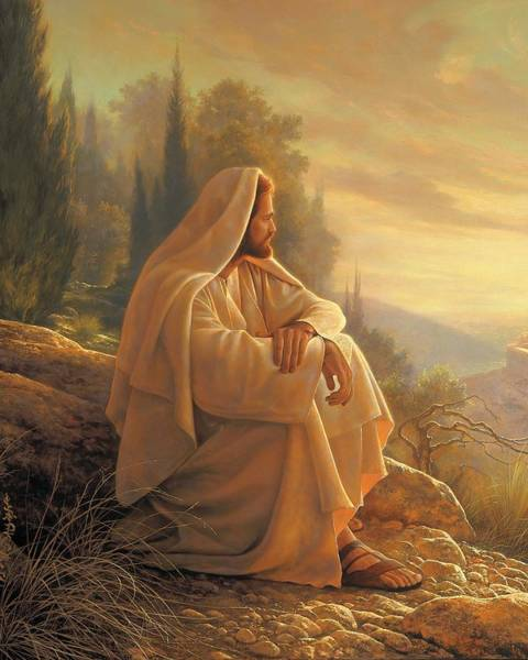 Jesus Wall Art - Painting - Alpha And Omega by Greg Olsen