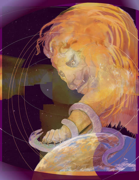 Digital Art - Alpha And Omega by Nancy Watson