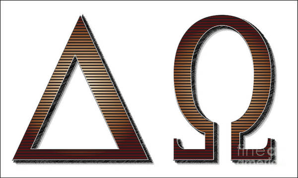A To Z Digital Art - Alpha Omega Letters by Bigalbaloo Stock