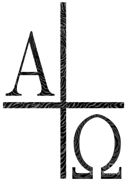 A To Z Digital Art - Alpha Omegs Icon Image by Bigalbaloo Stock