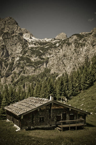 Wall Art - Photograph - Alpine Cabin by Frank Tschakert