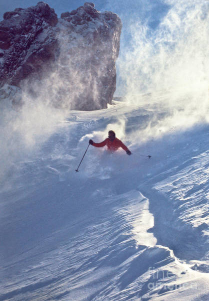 Wall Art - Photograph - Alpine D-9 Chute by Vance Fox