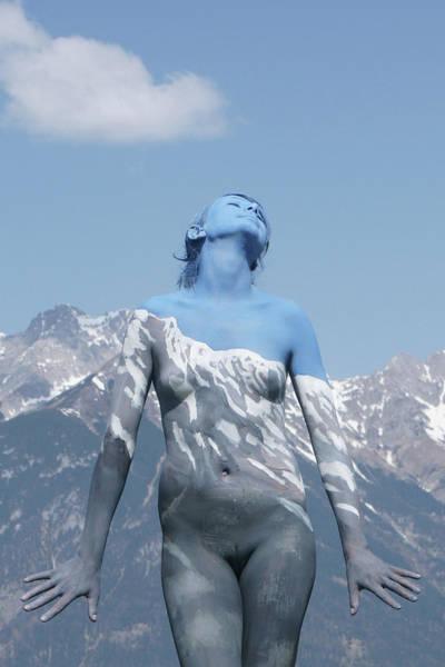 Bodypaint Wall Art - Painting - Alpine Feeling by Johannes Stoetter