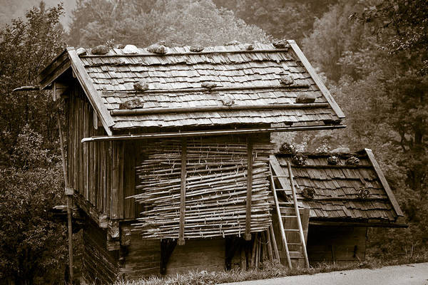 Wall Art - Photograph - Alpine Hut by Frank Tschakert