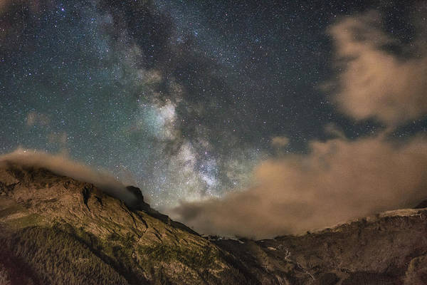 Photograph - Alpine Milky Way by James Billings