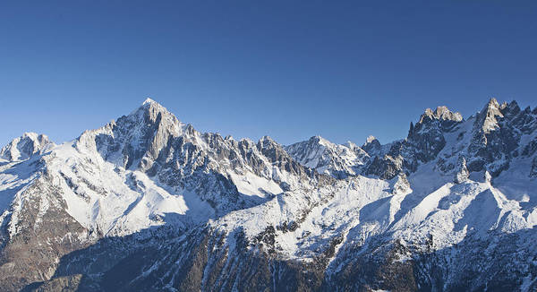 Mountain Climbing Photograph - Alpine Panorama by Pat Speirs