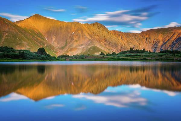Photograph - Alpine Sunglow by Darren White