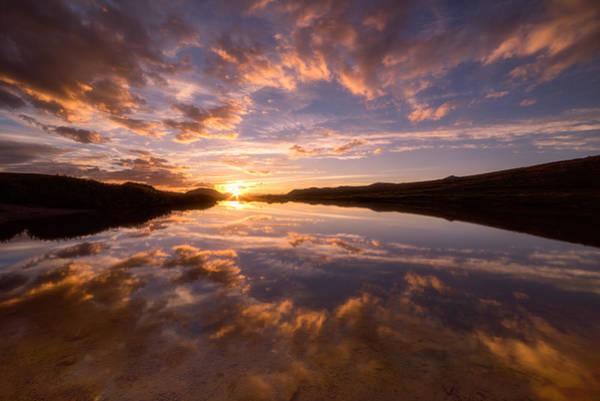 Colorado Sunset Photograph - Alpine Sunset by Darren White