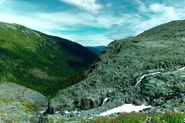 Tundra Swan Photograph - Alpine Waterfall by Jeff Swan
