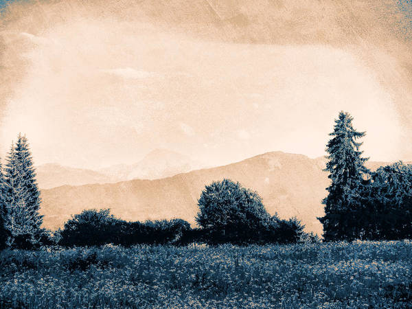 Wall Art - Photograph - Alpine Western by Antique Images