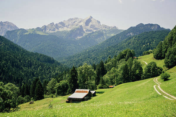 Wall Art - Photograph - Alps In Germany Landscape by Pati Photography