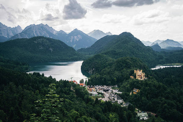Wall Art - Photograph - Alpsee Mountain Landscape by Pati Photography