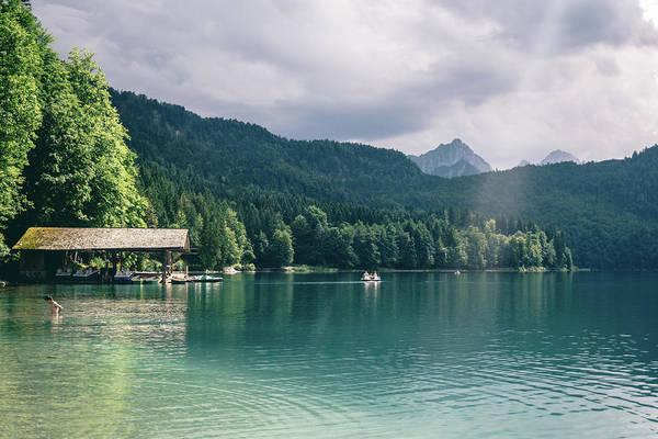 Wall Art - Photograph - Alpsee Summer Lake by Pati Photography