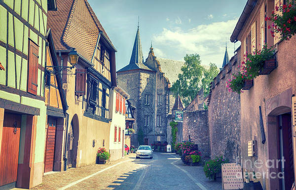 Photograph - Alsace Region In France by Ariadna De Raadt