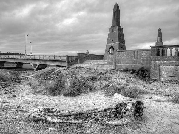 Photograph - Alsea Bay Bridge by HW Kateley