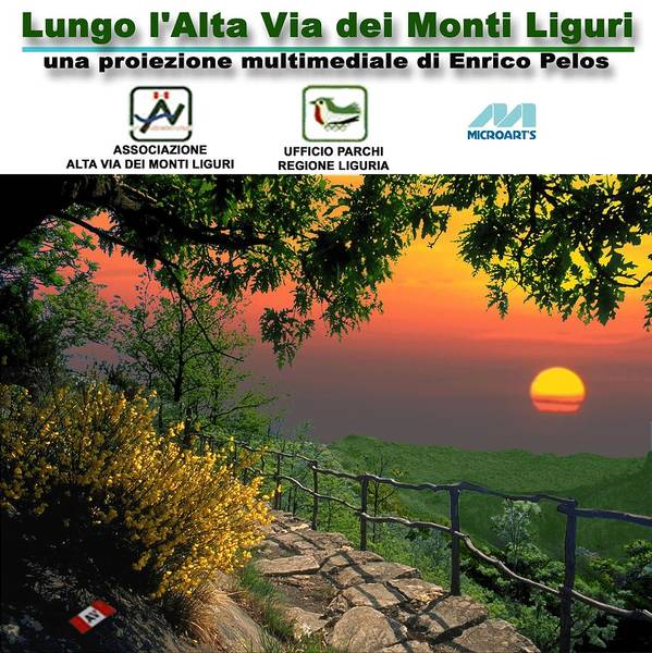 Photograph - Alta Via Dei Monti Liguri Cd Case Label by Enrico Pelos