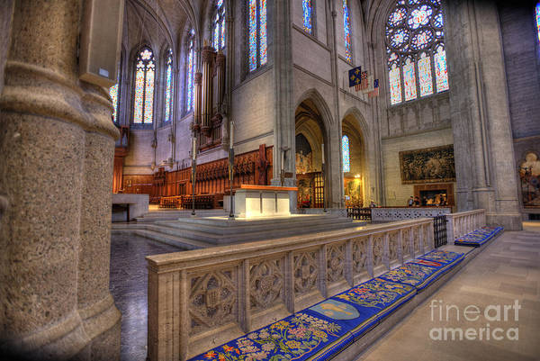 Grace Cathedral Photograph - Altar At Grace Cathedral by David Bearden