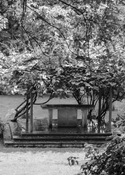 Photograph - Altar In The Garden by Tom Potter