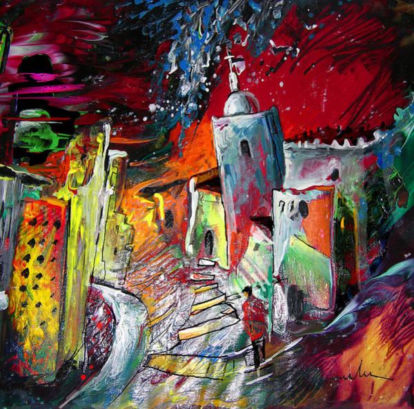 Painting - Altea Dream 01 by Miki De Goodaboom