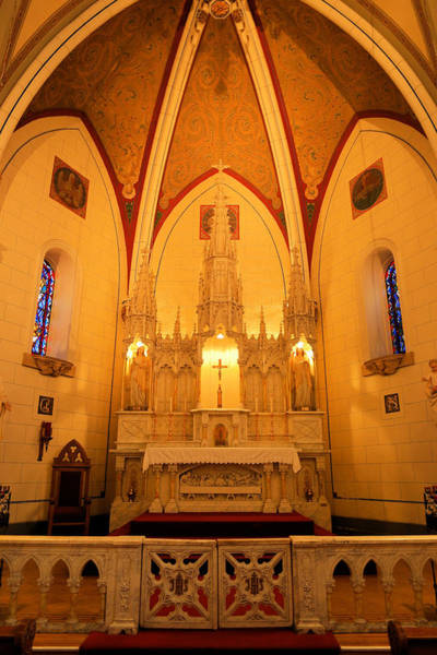 Loretto Chapel Photograph - Alter At The Loretto Chapel by Jeff Swan