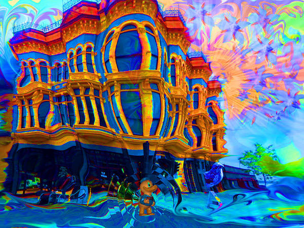 Port Townsend Digital Art - Altered, Port Townsend by Glen Faxon