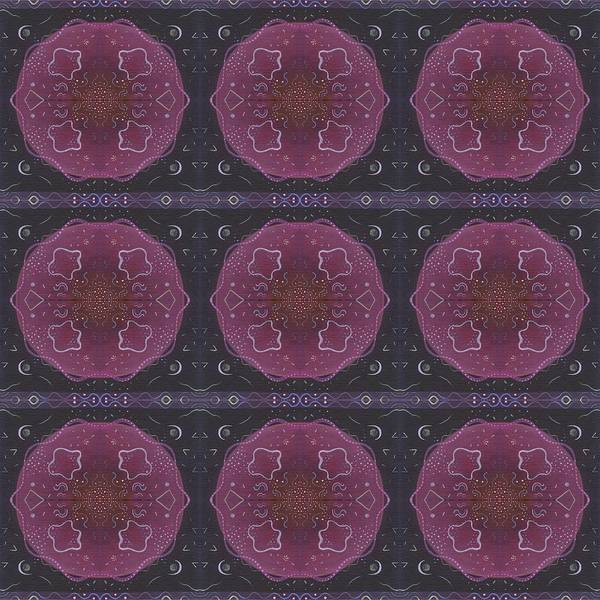 Deep Space Mixed Media - Altered States 1 - T J O D 27 Compilation Tile 9 by Helena Tiainen