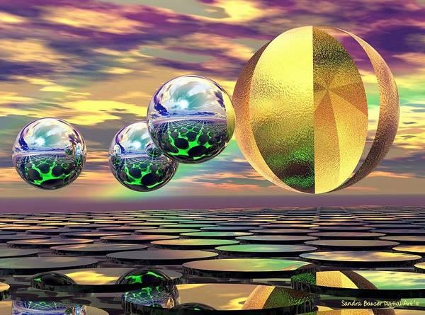 Digital Art - Alternate Reality by Sandra Bauser Digital Art